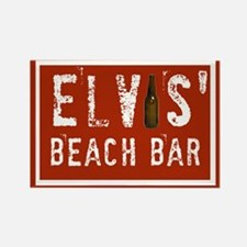 Elvis' Btl Logo Rectangle Magnet