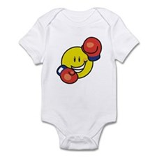 Smile Face Boxing Infant Bodysuit