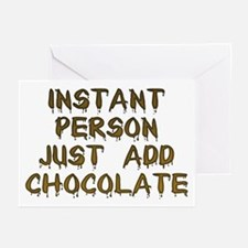 Just Add Chocolate! Greeting Cards (Pk of 10)