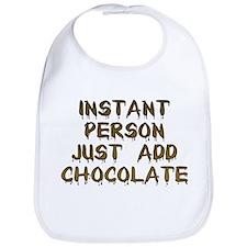 Just Add Chocolate! Bib
