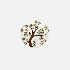 Cute World autism awareness day Mini Button