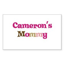 Cameron's Mommy Rectangle Decal