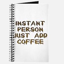Just Add Coffee! Journal