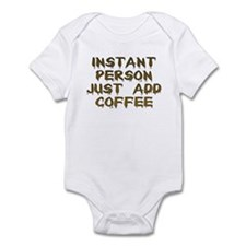 Just Add Coffee! Infant Creeper