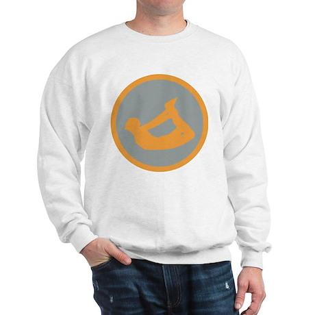 Yoga Bow Pose Sweatshirt
