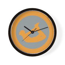 Yoga Bow Pose Wall Clock
