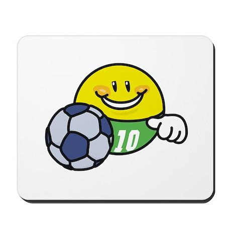Smile Face Soccer Mousepad