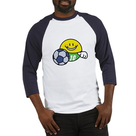 Smile Face Soccer Baseball Jersey