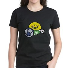Smile Face Soccer Tee