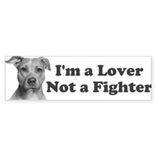 Pitbull Awareness Car Sticker