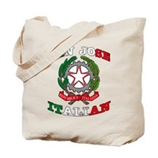 San Jose Italian Tote Bag