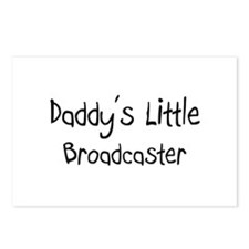 Daddy's Little Broadcaster Postcards (Package of 8