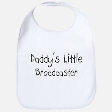 Daddy's Little Broadcaster Bib
