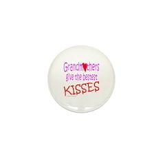 GRANDMOTHER'S KISSES Mini Button (10 pack)