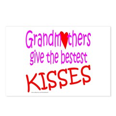 GRANDMOTHER'S KISSES Postcards (Package of 8)