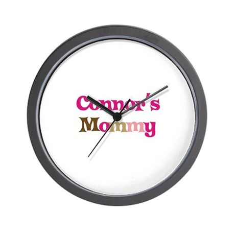 Connor's Mommy Wall Clock