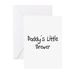 Daddy's Little Brewer Greeting Cards (Pk of 10)