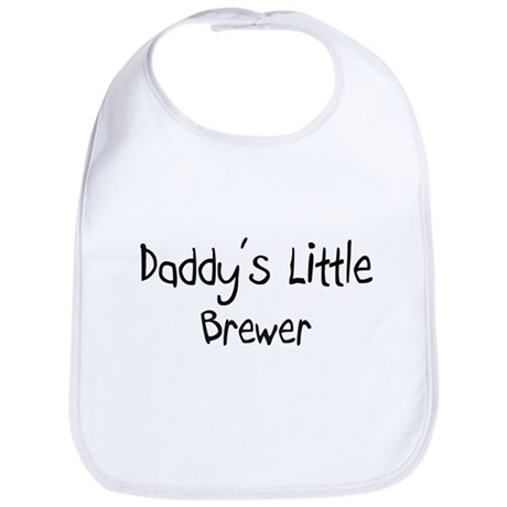 Daddy's Little Brewer Bib
