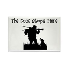 Duck Hunter Rectangle Magnet
