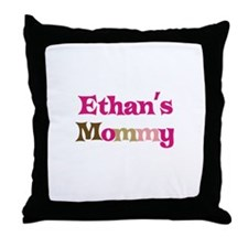 Ethan's Mommy Throw Pillow