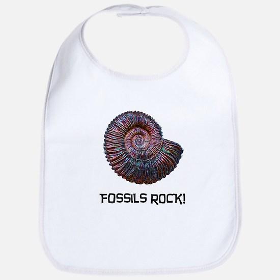 Fossils Rock! Bib