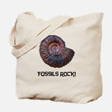 Fossils Rock! Tote Bag