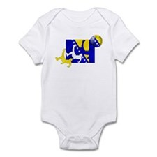 Bosnia Soccer Infant Bodysuit