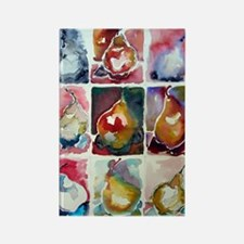 Pear Study Rectangle Magnet (10 pack)
