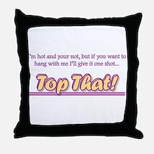 Funny Teen Throw Pillow