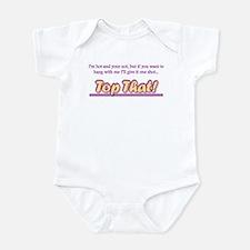 Cute Classic hip hop Infant Bodysuit