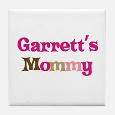 Garrett's Mommy Tile Coaster