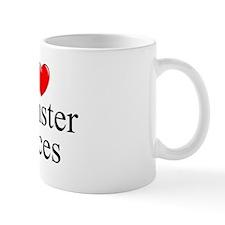 """""""I Love (Heart) Hamster Races"""" Mug"""
