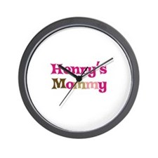 Henry's Mommy Wall Clock