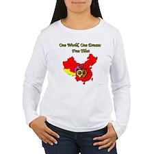 China in Handcuffs Women's Long Sleeve T-Shirt