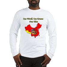 China in Handcuffs Long Sleeve T-Shirt