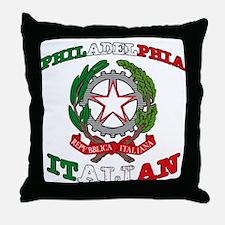 Philadelphia Italian Throw Pillow