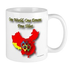 China in Handcuffs Mug