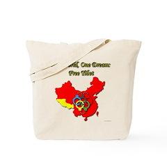 China in Handcuffs Tote Bag