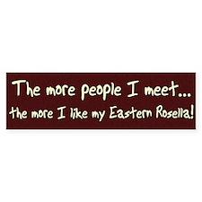 More People Eastern Rosella Bumper Bumper Sticker