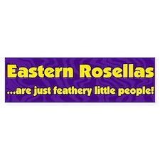 Feathery People Eastern Rosella Bumper Bumper Sticker