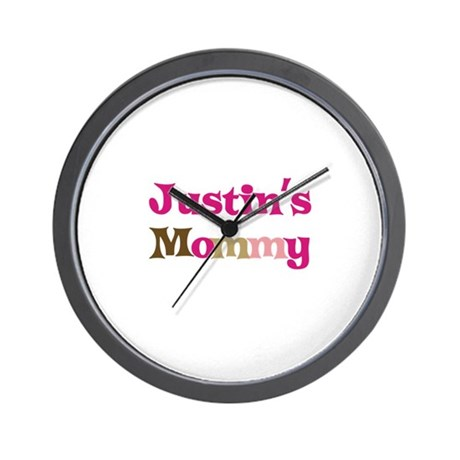 Justin's Mommy Wall Clock