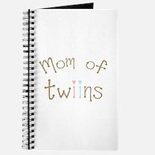 Mom of Twins Boy Girl Journal