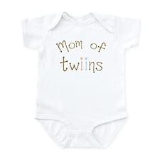 Mom of Twins Boy Girl Infant Bodysuit