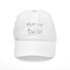 Mom of Twins Boy Girl Baseball Cap