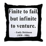 Emily Dickinson 8 Throw Pillow
