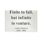 Emily Dickinson 8 Rectangle Magnet (100 pack)
