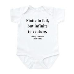 Emily Dickinson 8 Infant Bodysuit