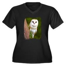 Unique Birds of a feather Women's Plus Size V-Neck Dark T-Shirt