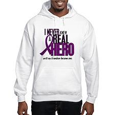 Never Knew A Hero 2 Purple (Grandson) Hoodie