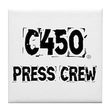 Tile Coaster-C450 PRESS CREW